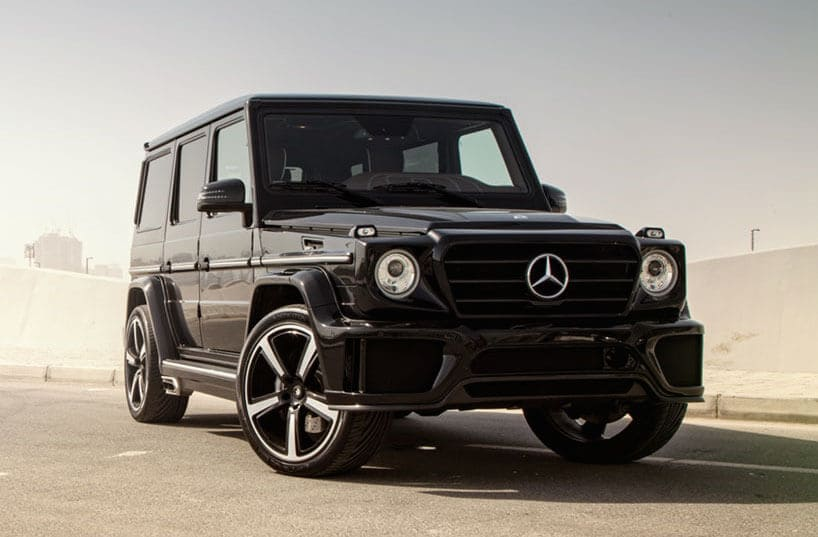 ARES Performance Mercedes G-Class Side View