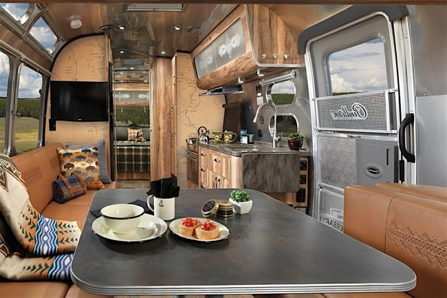 Airstream x Pendleton National Park Edition Travel Trailer 1