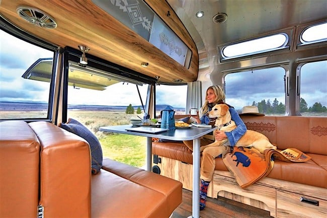 Airstream x Pendleton National Park Edition Travel Trailer 14