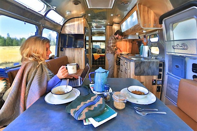 Airstream x Pendleton National Park Edition Travel Trailer 7