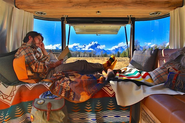 Airstream x Pendleton National Park Edition Travel Trailer 8