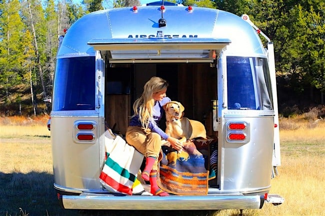 Airstream x Pendleton National Park Edition Travel Trailer 9