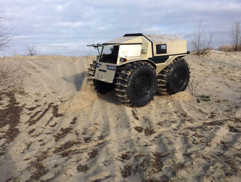 Amphibian ATV Concept