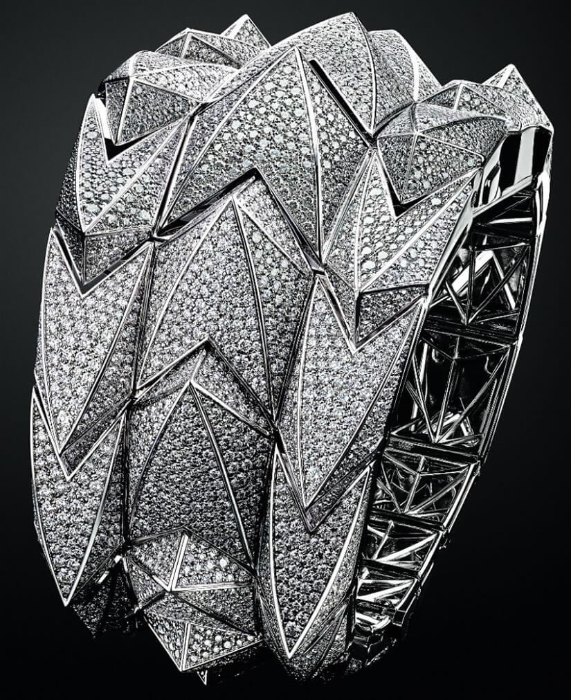 Audemars Piguet Diamond Fury Bracelet Watch