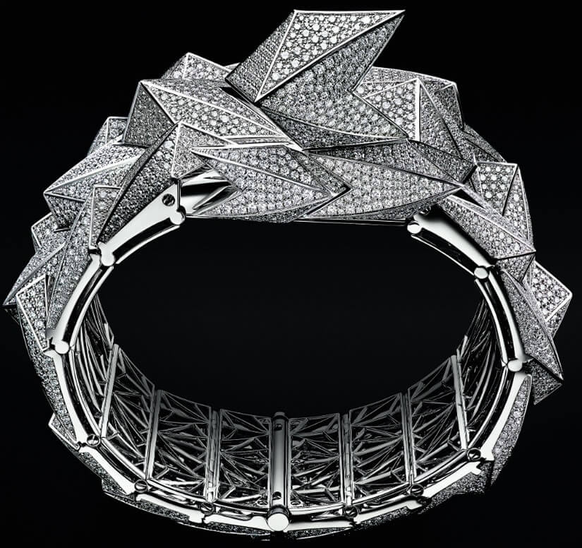 Audemars Piguet Diamond Fury, White Gold Bracelet