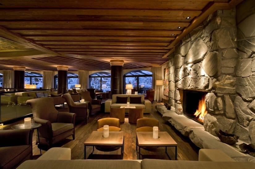 Bar, Hotel The Alpina Gstaad