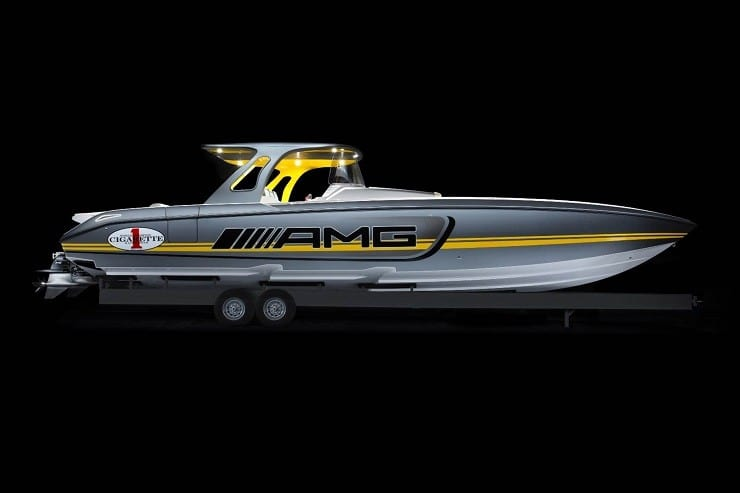 Cigarette Racing 41' SD GT3 Boat 14