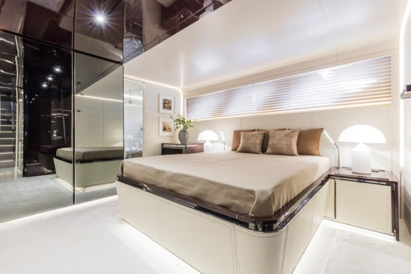 Dreamline 34 Luxury Yacht by DL Yacht, Guest Cabins