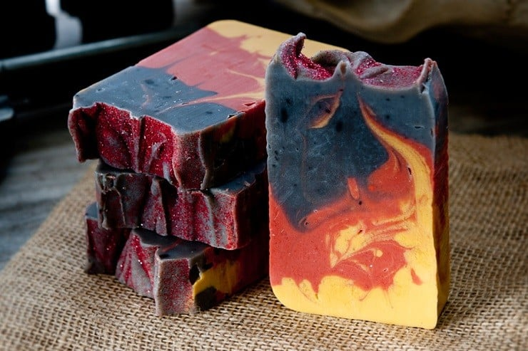 'Fire in the Hole' Campfire Soap 2