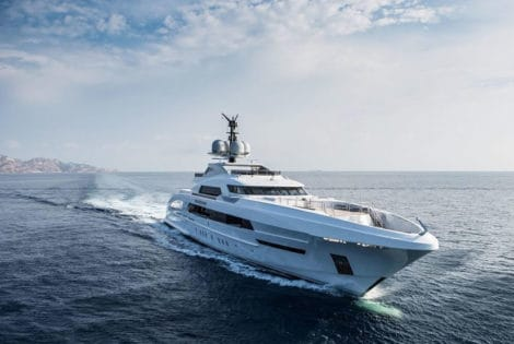 Front View, Galactica Star Superyacht