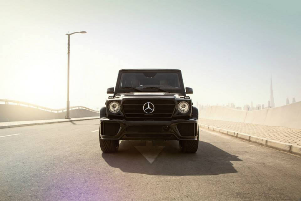 Front View Mercedes-Benz G-Class by ARES Performance