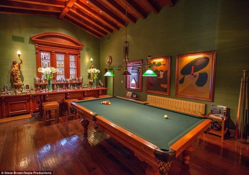 Hacienda de la Paz, Gaming Room