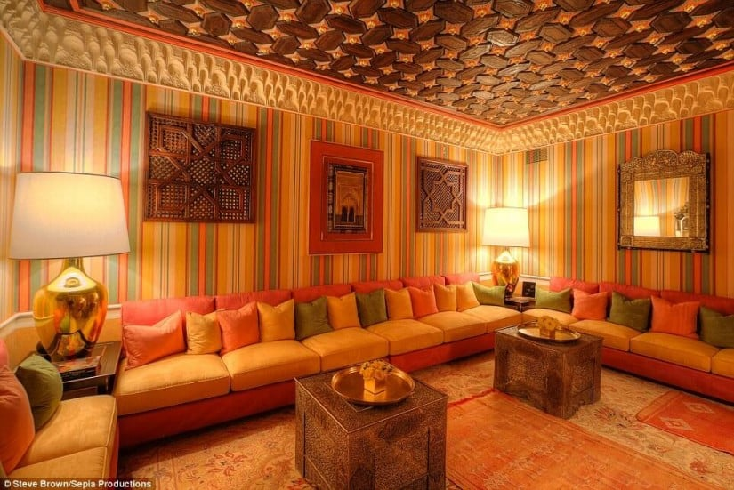 Hacienda de la Paz, Los Angeles, Lounge Area