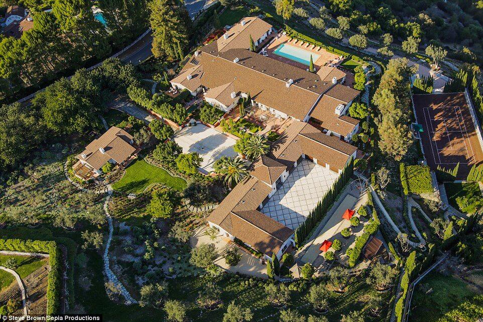 Hacienda de la Paz, Top View