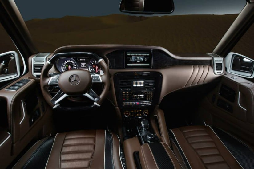 Interior Mercedes-Benz G-Class by ARES Performance