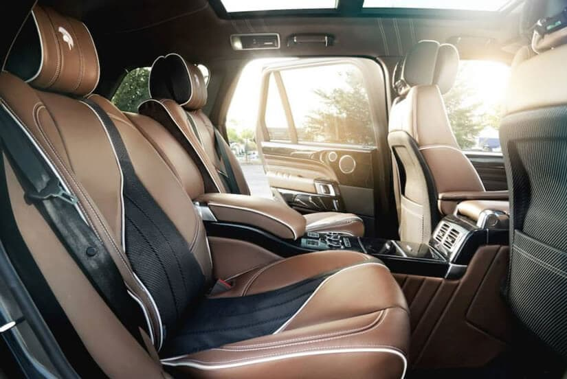 Interior, Range Rover by ARES Performance