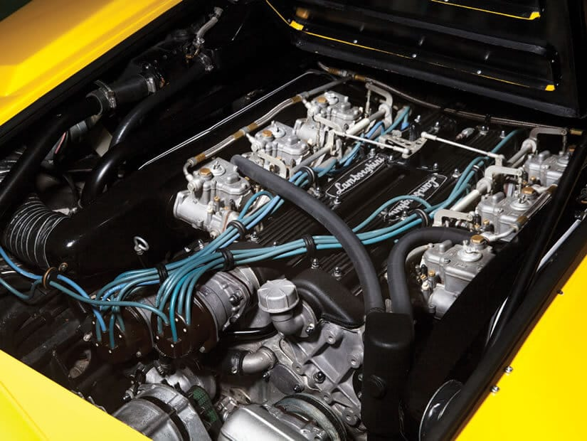 Lamborghini Countach LP400, Engine