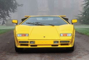 Lamborghini Countach LP400 S Series III, Front View