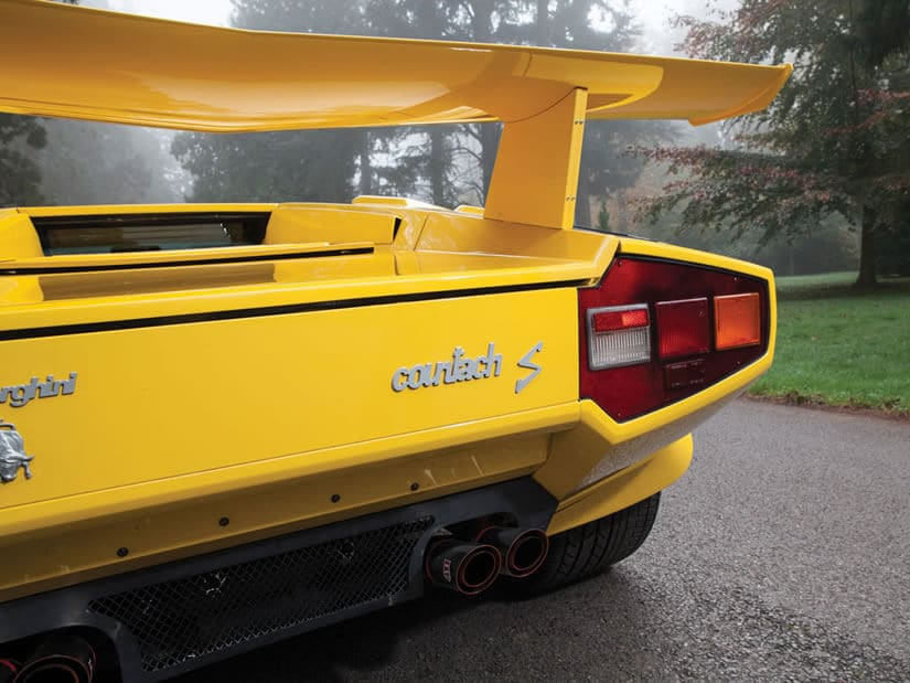 Lamborghini Countach LP400 S Series III, Tail Lights