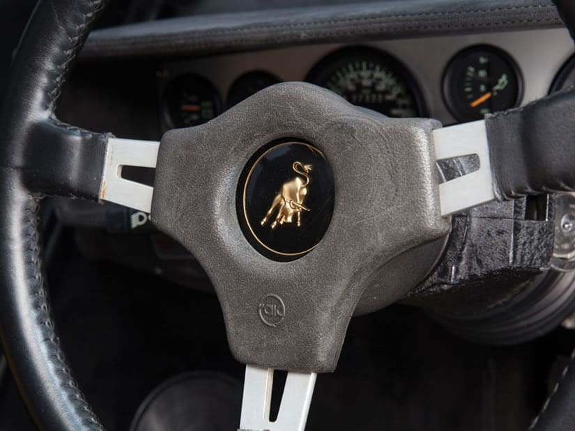 Lamborghini Countach LP400, Steering Wheel
