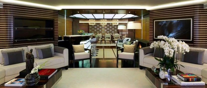 Living Room, Galactica Star Yacht
