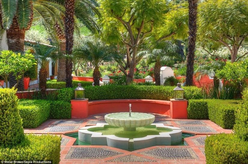 Los Angeles, Hacienda de la Paz, Garden