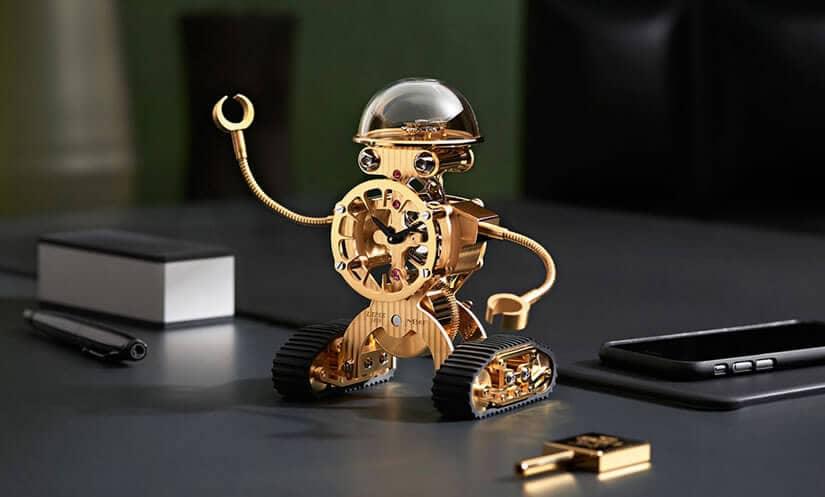 MB&F Sherman Robot Desk Clock