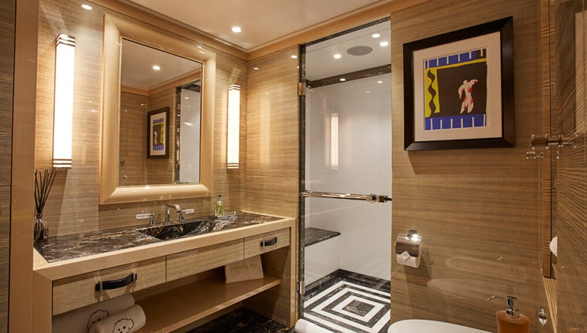 Madame Kate Superyacht by Amels, Bathroom