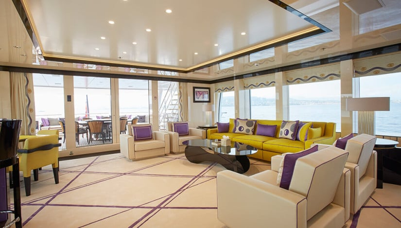 Madame Kate Superyacht by Amels, Saloon
