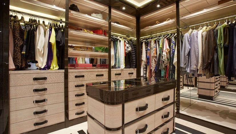 Madame Kate Yacht Closet