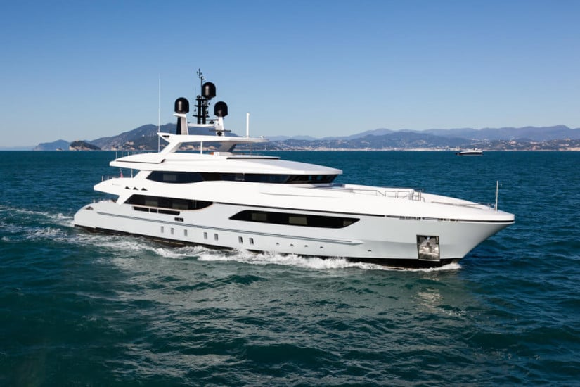 Only One Superyacht by Baglietto, Side View