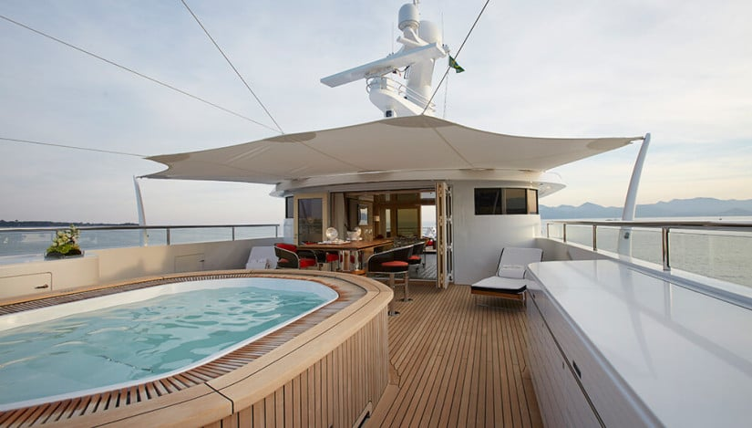 Pool, Madame Kate Luxury Yacht