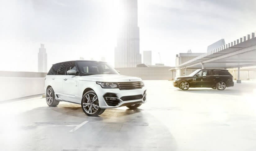 Range Rover Vogue by ARES Performance