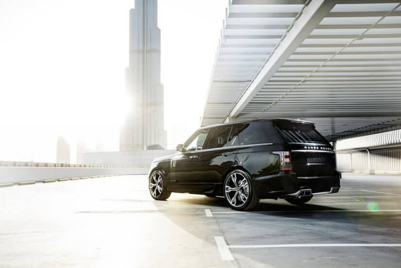 Range Rover by ARES Performance, Black Exterior
