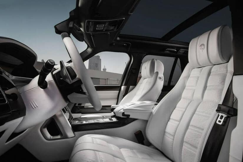 Range Rover by ARES Performance, Interior