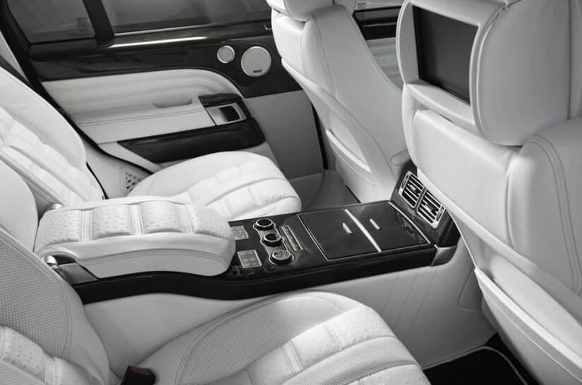 Range Rover by ARES Performance, Luxury Interior