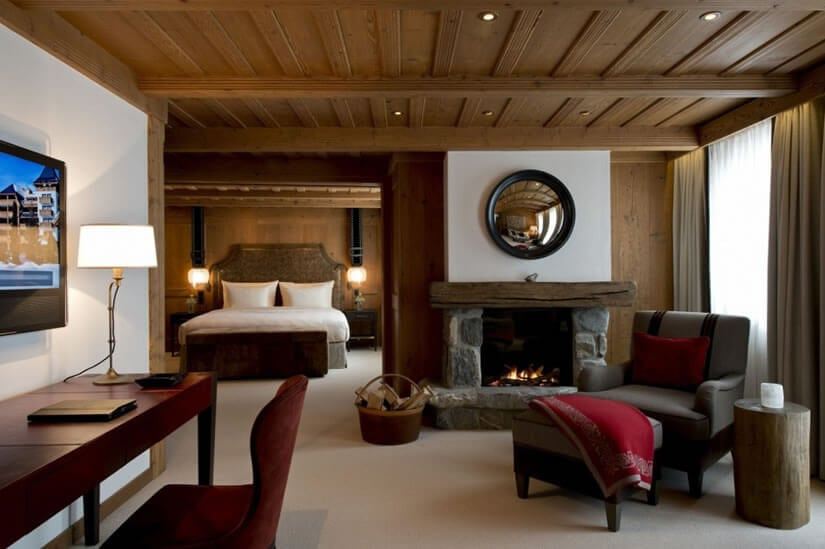 Room, Hotel The Alpina Gstaad