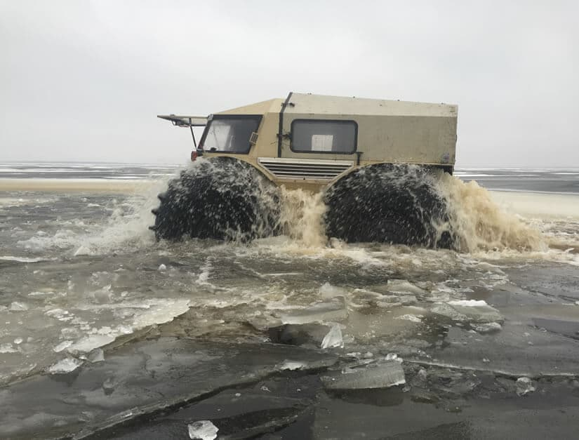 Russian Amphibian ATV Concept