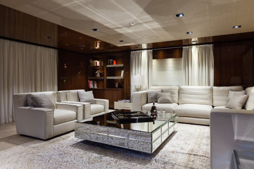 Saloon, Only One Superyacht by Baglietto