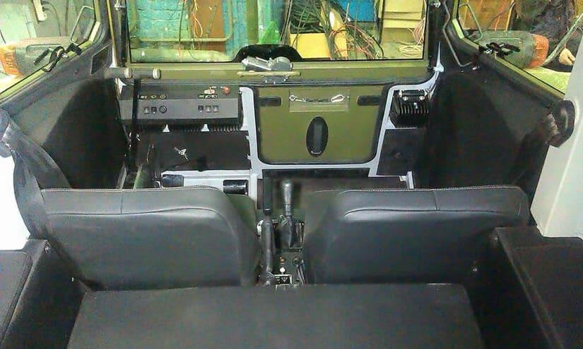 Sherp ATV, Soft-Top Cabin