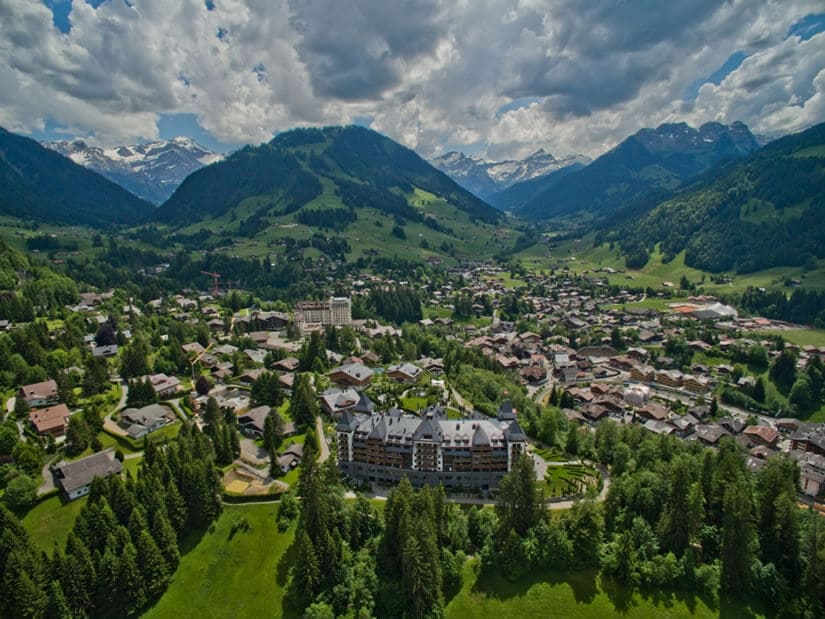 The Swiss Alpina Gstaad, Panorama
