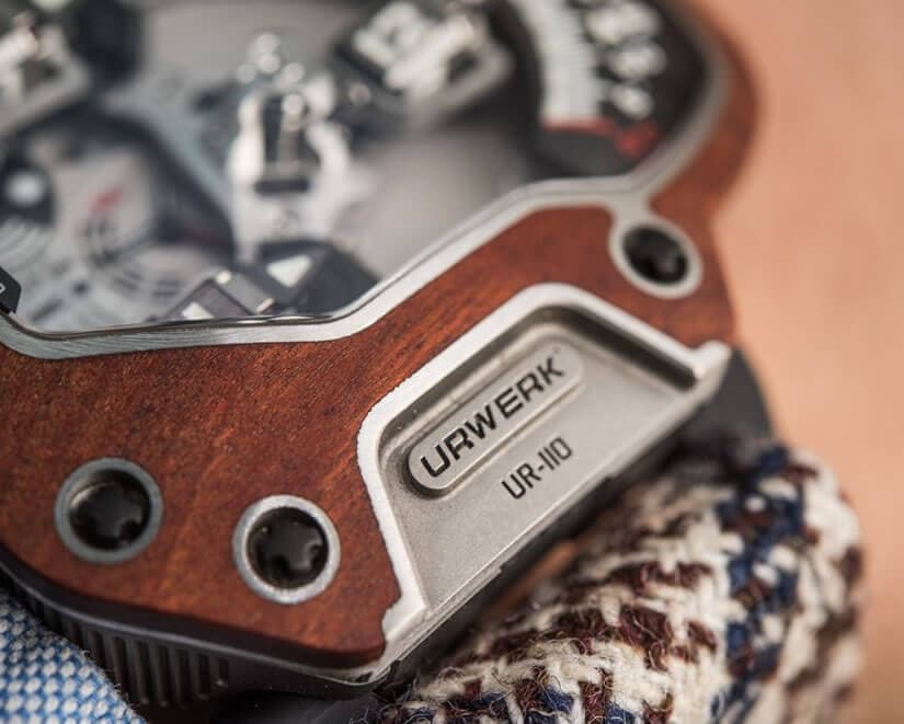 Titanium Case, Urwerk UR110 Eastwood Red Ebony