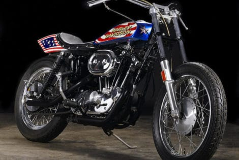 1976 Harley-Davidson XL1000 Motorcycle,Evil Knievel
