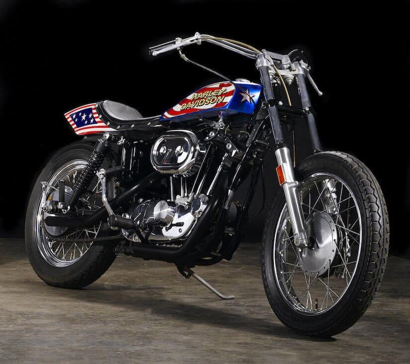 1976 Harley-Davidson XL1000 Motorcycle,Evil Knievel