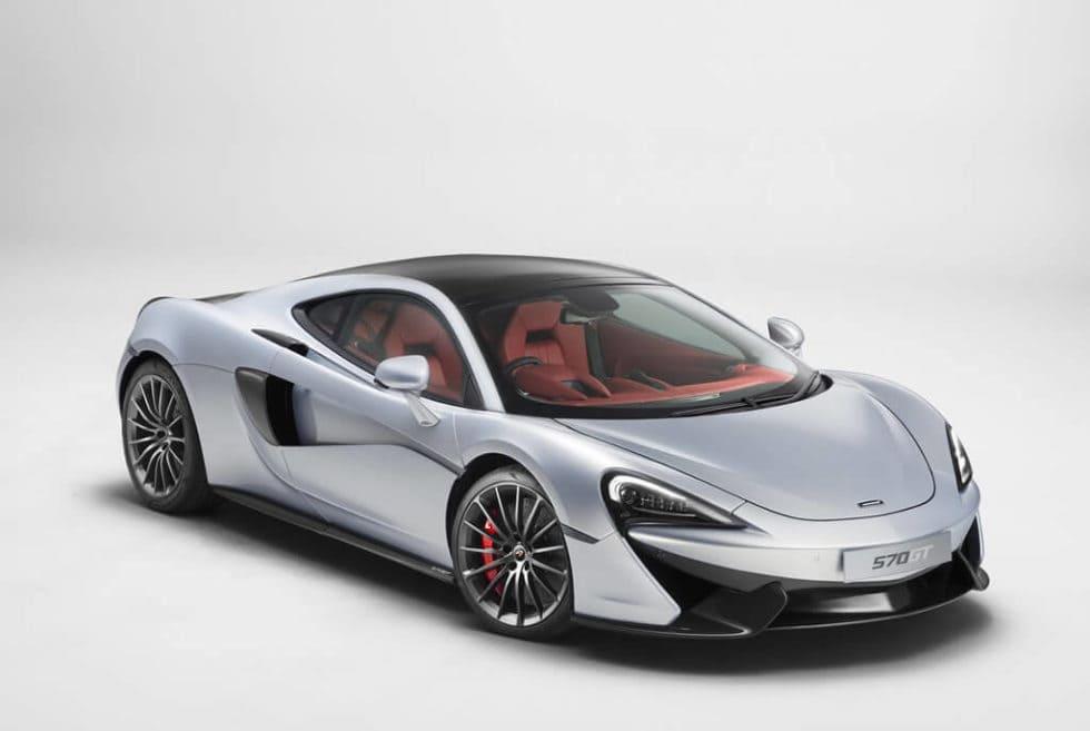 2017 McLaren 570GT, Front View