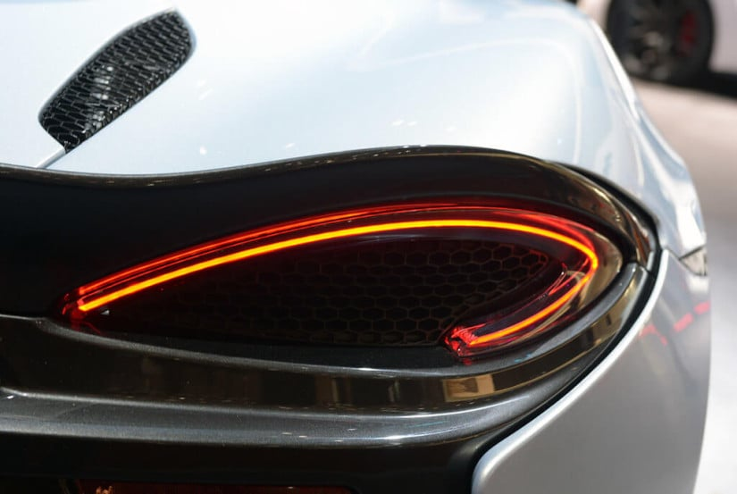 2017 McLaren 570GT, Tail Light