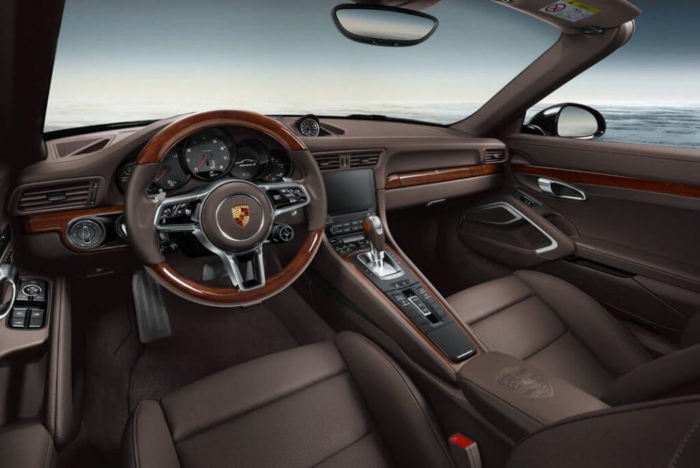 911 Carrera 4 Wood Interior By Porsche Exclusive