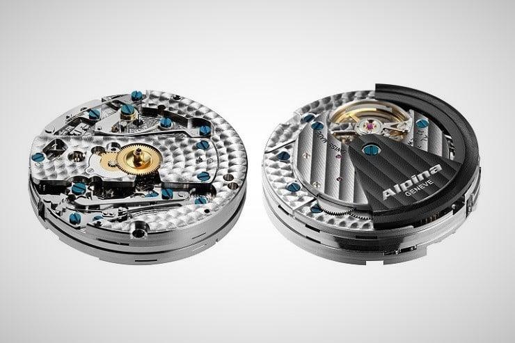 Alpiner 4 Black Flyback Manufacture Chronograph 4