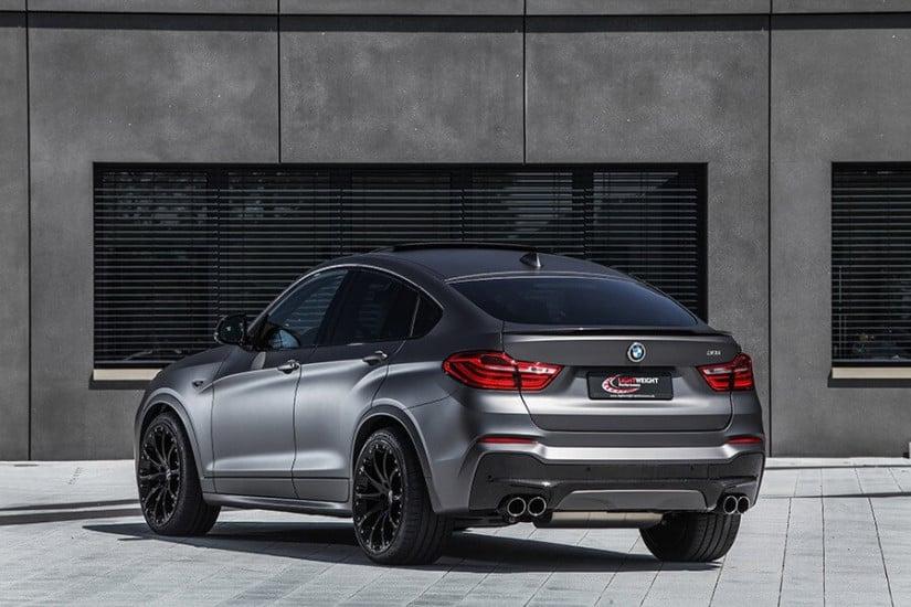 Back View, Lightweight Performance BMW X4