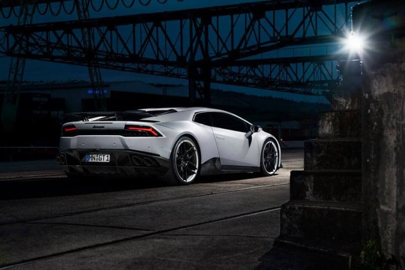 Back View Novitec Torado Lamborghini Huracan